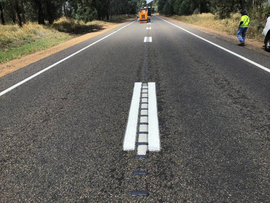 Olympic Highway to get rumble strips over coming months